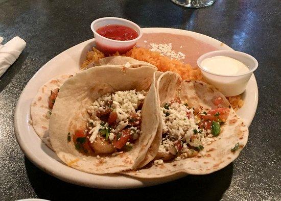 Dallas, PA: Shrimp Soft Tacos