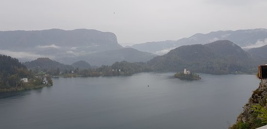 Lake from Castle