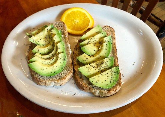 Bear Creek, PA: Avocado Toast