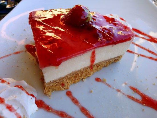Agia, Grèce : Cheesecake