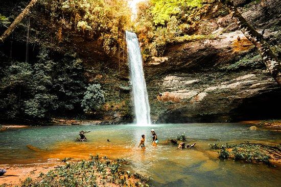 Meta Department, Colombia: Cascada Caracas, ubicada en el municipio de Mesetas en el Meta maravillas de Colombia Oculta
