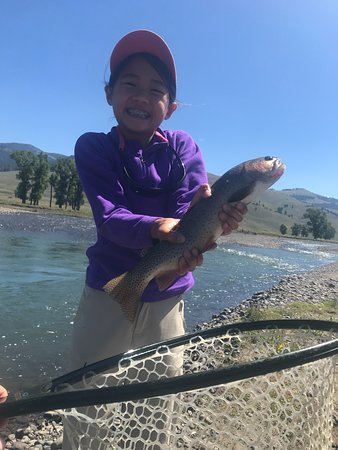 Yellowstone River Outfitters: cutty