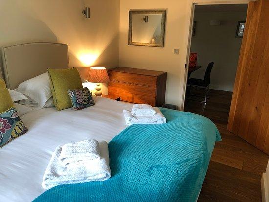 Nefyn, UK: Downstair master bedroom