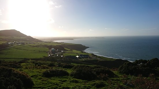 Nefyn, UK: Late afternoon stroll from just outside the accomodation.