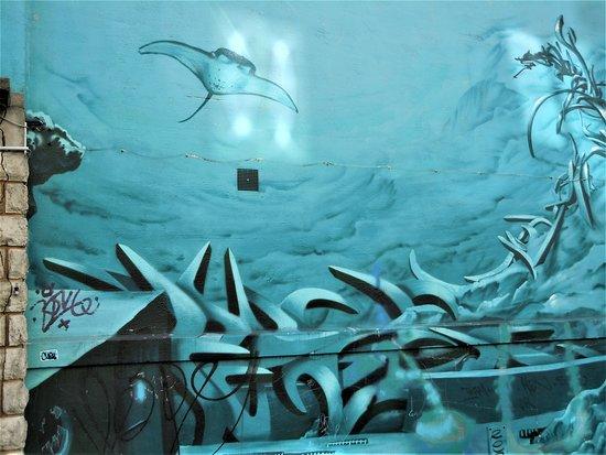 Fresque Fonds Marins