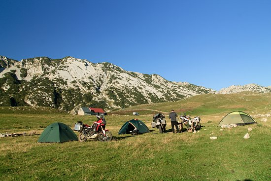 Camp in Durmitor National Park