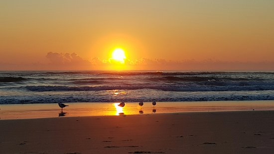 Burleigh Heads Beach: Sunrise