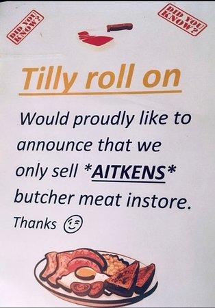 Tilly Roll On: True
