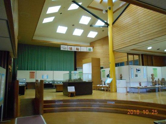 矢板市立郷土資料館, メインの展示スペース
