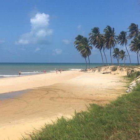 Praia bonita para fotos