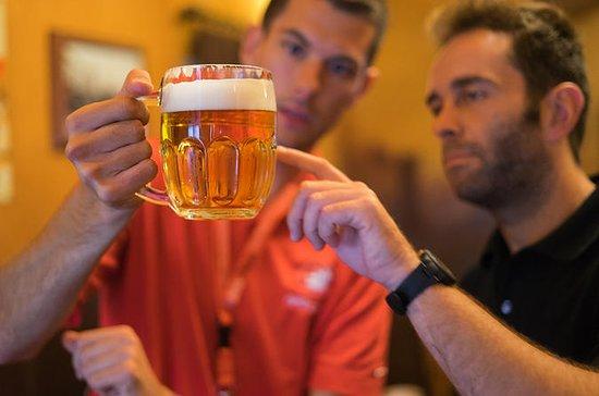 Praha tsjekkisk øl og bar kveldstur