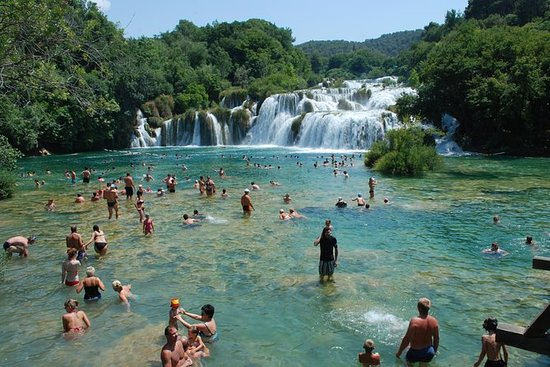 Krka Waterfalls Day Trip from...