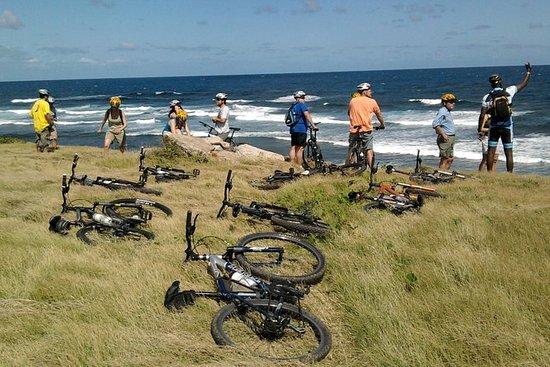 Radfahren rund um die Insel Nevis