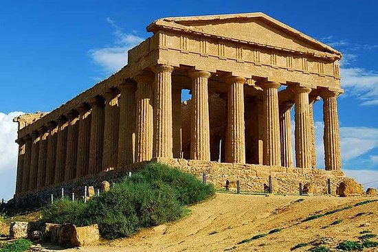Agrigento och Valley of the Temples ...