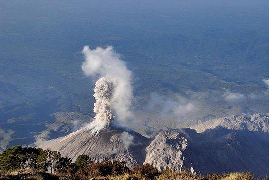 Volcan Santiaguitoクレーター - リアルアドベンチャーデー