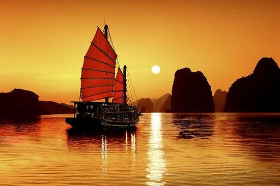Group Halong Bay Day Cruise Including...