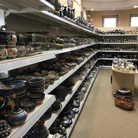BOLESLAWIEC Ceramic plant - flagship store