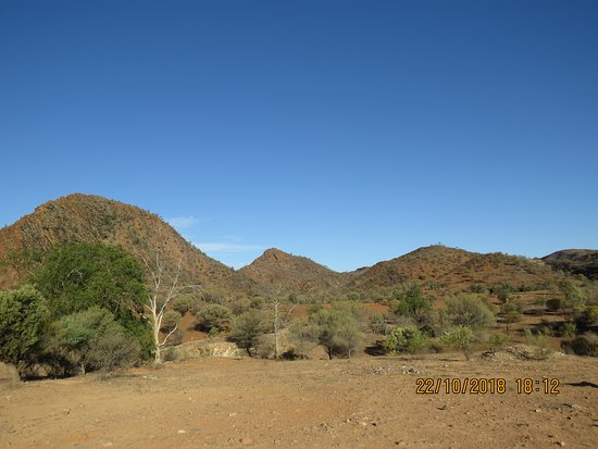 Arkaroola, Australia: Fantastic rock formations.This picture does not do the place justice.