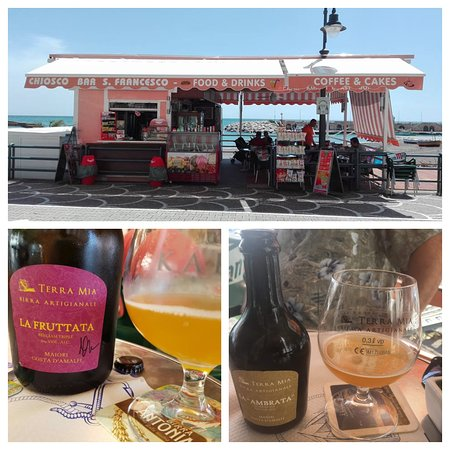 Chiosco Bar S. Francesco: The Chiosco and its owner's exceptional beer