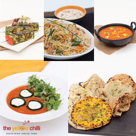 Head to The Yellow Chilli for an exclusive working lunch! Try the Maharaja Meal