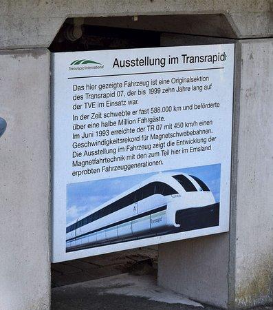 Lathen, Alemania: Zug Tafel