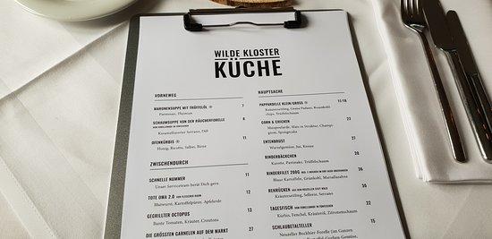 Klosterhotel Neuzelle: Wilde Klosterküche