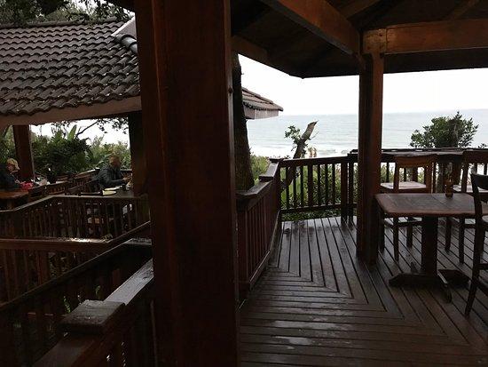 Meerensee, Afrique du Sud : Terrasse der Sundowner Bar