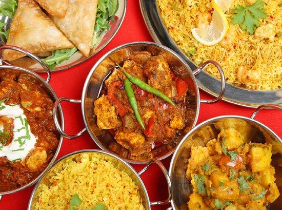 Curry Junction Cafe & Indian Restaurant: Mild,med /hot spice
