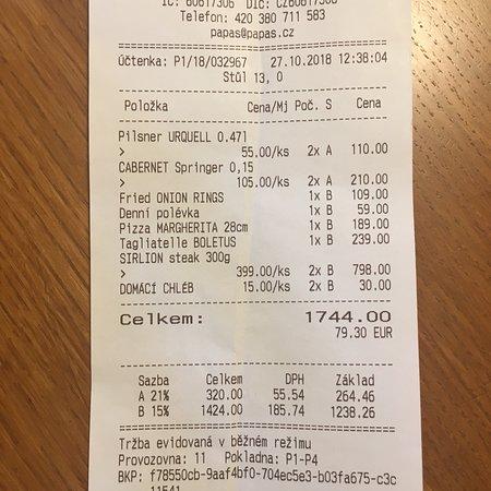 Servis Fena Degil Ama Yavas Picture Of Papa S Living Restaurant