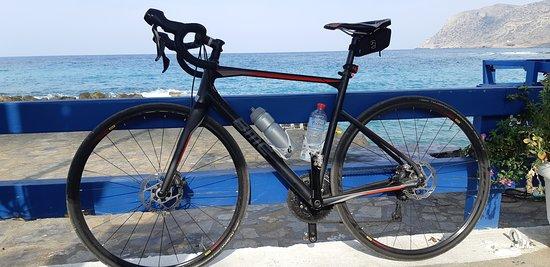 Cycling Creta: BMC Gravelbike maat 54