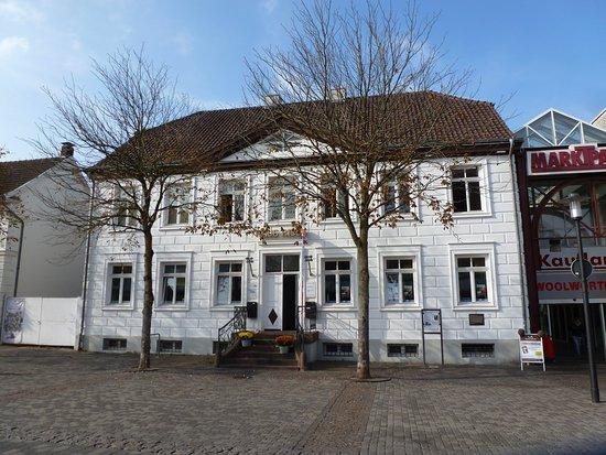 Arnsberg, Duitsland: Hier im Gebäude ist das Citybüro untergebracht.