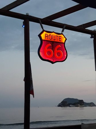 route 66 rock beach bar laganas zante