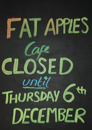 St Keverne, UK: Closed until the 6th December. Please call for winter opening.