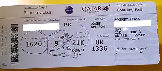 Screen Picture Of Qatar Airways World Tripadvisor