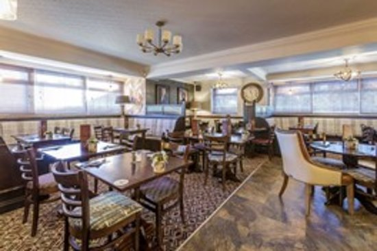 Brandon, UK: Dining area at The Brawns Den
