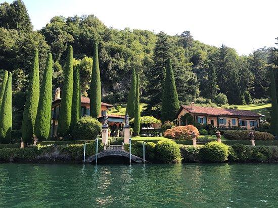 Naggio, Italie: Giro in barca sul lago