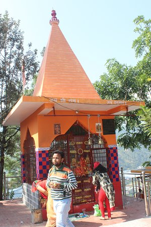 Bageshwar, Indien: MANDIR OF A DEITY IN THE COMPLEX