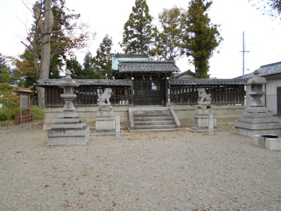 Hachiman Shrine (Nasu Castle Ruins)