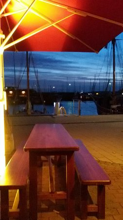 Laboe, Germany: Super Blick am Abend
