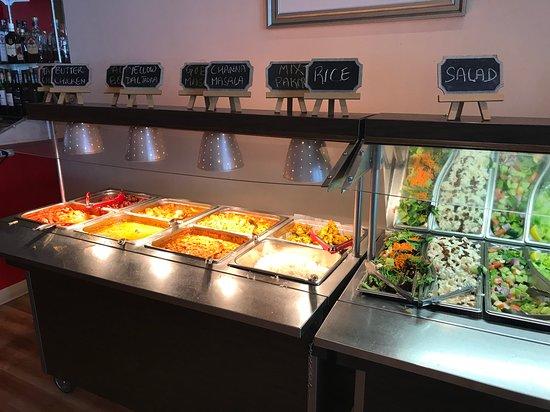 mantra buffet picture of the mantra fine indian cuisine victoria rh en tripadvisor com hk