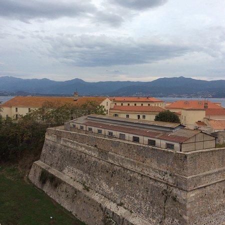 Hotel San Carlu Citadelle: Vue du 4ème étage