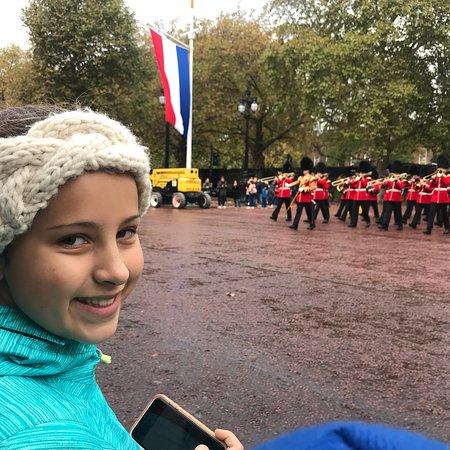 Begeleide wandeling in Londen met wisseling van de wacht Foto