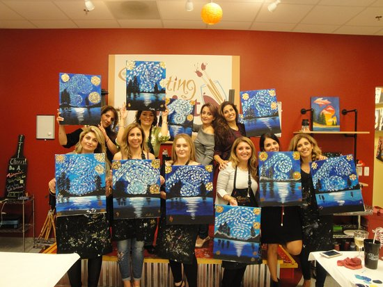 Wixom, MI: Private Paint Parties are the new night out!