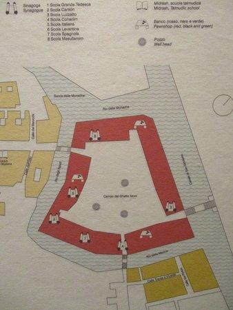 plan du Ghetto Nuovo