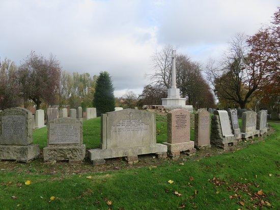 Dunfermline, UK: gravestones