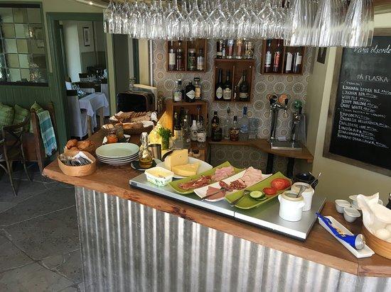 Ljugarn, Σουηδία: Frukost