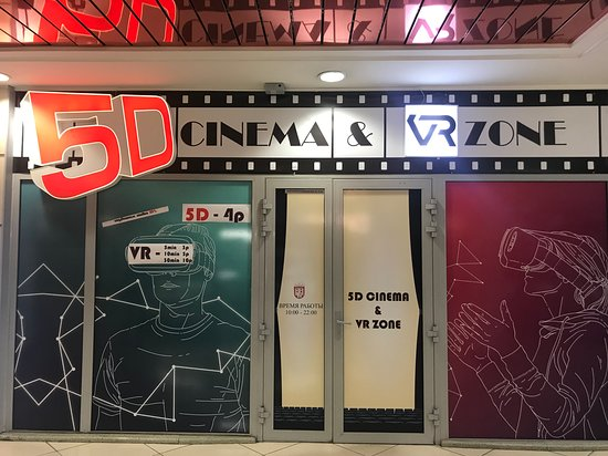 5D Cinema & VR Zone