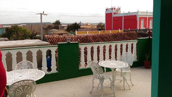 Profeta Goma aleatorio  Vistas desde la terraza del restaurante La Perla del Norte - Picture of La  Perla Del Norte, Gibara - Tripadvisor