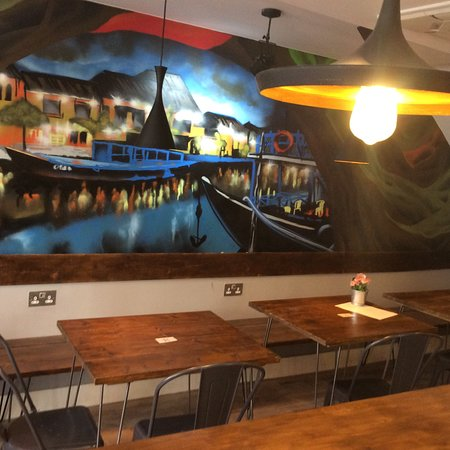 Coto Kitchen: Beautiful decor, cosy atmosphere and tasty food