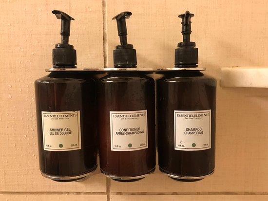 Hotel Abri: Eco friendly alternative to small bottles